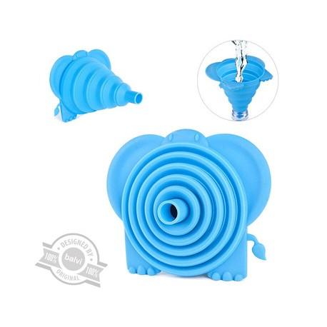 Embudo en silicona con diseño de Elefante.